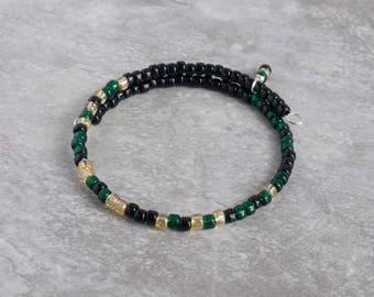 Military Deployment Gift -  Long Distance Bracelet -  Military Mom Jewelry - Morse Code Bracelet -Secret Message Bracelet - Son Soldier Hero