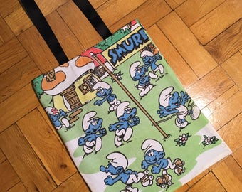 Smurfs WRETRO WRAPPER tote bag
