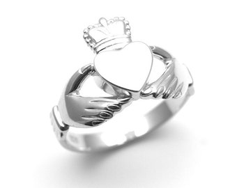 Claddagh Ring Sterling Silver (59831) (CL5)