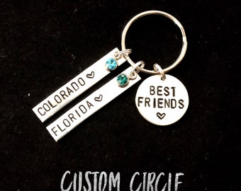 Custom Circle | Change Circle | Personalized | Handstamped Jewelry