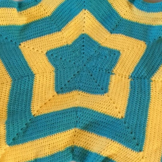 Crochet Star Blanket Star Shaped Baby Blanket Star Blanket