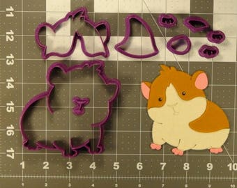 Hamster 100 Cookie Cutter Set