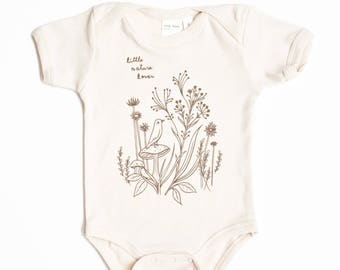Organic Baby Clothes - Nature Baby Clothing - Organic Baby Clothing Organic Baby Bodysuit, natural baby clothes, organic gift baby bodysuit