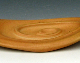 CERAMIC SOAP DISH #3 - Wood Fired Pottery - Wood Fired Ceramics - Stoneware Soap Dish - Soap Holder - Studio Pottery