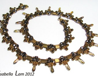 OSSOM NECKLACE Beadwork Exclusively PDF Beading tutorial for personal use only