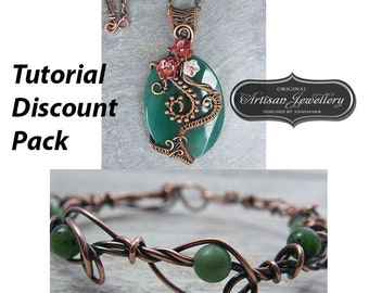 Wire wrapped jewelry tutorials ~ Wire jewelry tutorial ~ Pendant tutorial ~ Wire wrapping ~ Wire tutorial ~ Wire wrap tutorial ~ Tutorial
