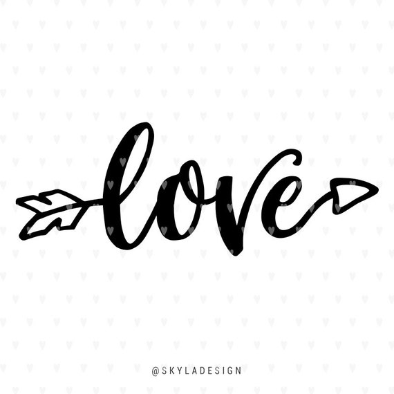 Download Love svg Valentines svg file Arrow svg Valentine svg Cute