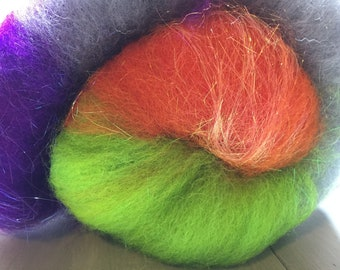 Agent P Art Batt for Spinning or Felting