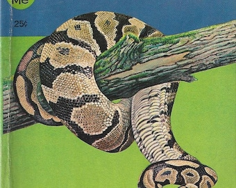 Vintage Snakes A Junior Golden Guide Quiz-Me Book, 1963