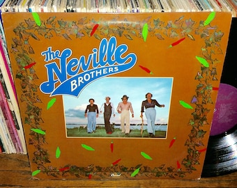 The Neville Brothers Vintage Vinyl Debut Record