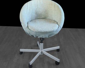 IKEA Gray Tweed SKRUVSTA Chair Slip Cover