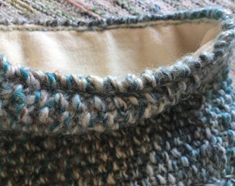 Around the neck fleece lining