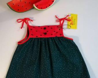 Watermelon Toddler Dress