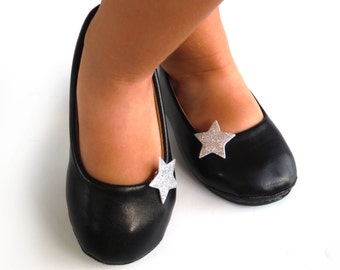 Glitter Star Shoe Clips