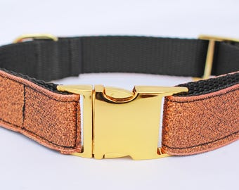 Coco Sparkle GOLD BUCKLE Dog Collar - Limited Edition