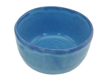 Coral Forest Blue Matcha Bowl