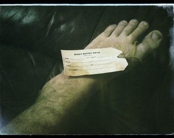 Mortuary toe tags (Set of 3)