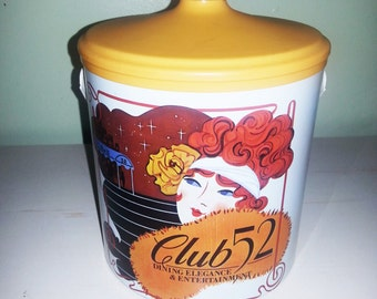 Vintage ice bucket, vintage Club 52 Ice Bucket.