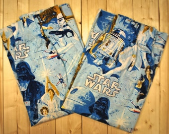 Vintage STAR WARS Curtains 1977  / Retro Collectable Rare