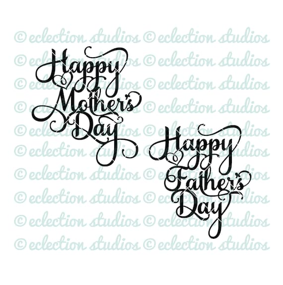 Happy Mother S Day Cake Topper Svg