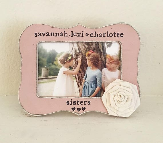 Sisters picture frame, GIFT for sister, personalized sister gift ...