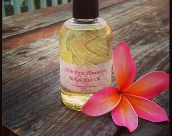 Pure Hawaiian Kukui Nut Oil