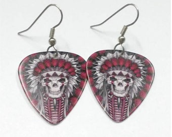 Reserve listing for Kylie...guitar pick pendant