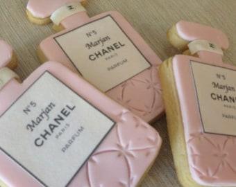 Perfume Custom Cookies