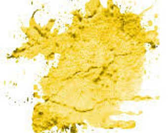 Stable Fresh Lemon Yellow Mica Pigment Powder Non Bleeding Shimmer for Soap and Craft Making