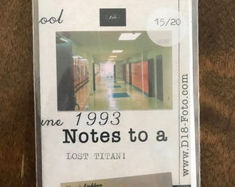 D18-Foto Zine: Notes to a LOST TITAN