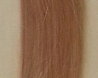 22inch 100 grams,100 strands,Nail (U) Tip Human Hair Extensions #18 Dark Blonde