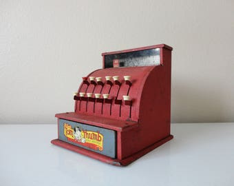 VINTAGE tom thumb collectible metal toy CASH REGISTER