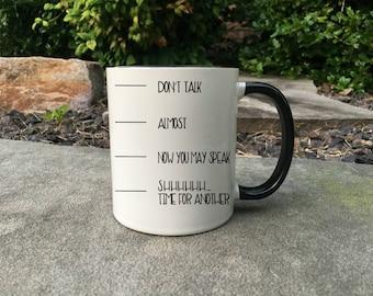 Coffee Timeline, Funny Coffee Lover Mug, Funny Coffee Mug, Gift for her, Coffee Lover Gift, Gift for Coffee Lover, Mug, Gift for him