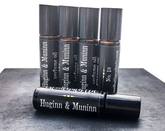 Rosa und Munnin Limited Edition Parfümöl Nr. 10