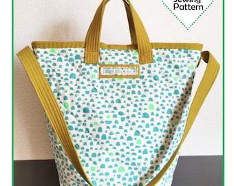 PDF Ellie Bucket Tote - Zakka Sewing Pattern - Instant Download