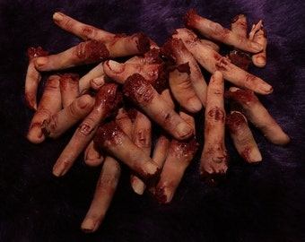 Silicone Severed Finger Props