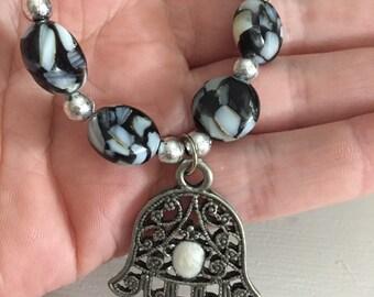 Lovely Hamsa Necklace