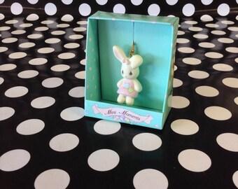 Mini Moments~Enesco~1994~Easter~Bunny Rabbit~Ornament~Precious Moments
