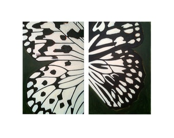ORGANIC BUTTERFLY, Butterfly Painting, ABSTRACT Painting, Original Art, Big Wall Art, Butterfly Painting, Butterfly, Nature Art,Acrylic Art