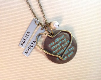 For All The Things Personalized Necklcae