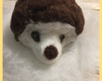 Kit to create 2 curls! In Waldorf style with video CD with photos and explanations. Needle felting.