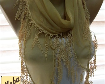 Beige scarf ,women scarves- fashion scarf -  gift Ideas For Her Women's Scarves-christmas gift- for her -Fashion accessories