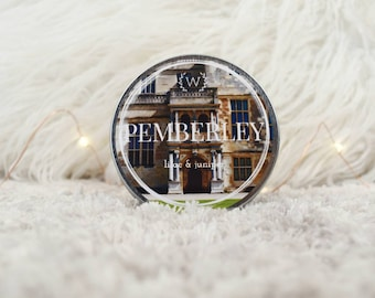 Pemberley 4oz Soy Candle | Jane Austen Inspired Bookish Candle