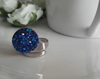 Nice unglazed Blue shimmer