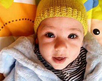 Green Pixie Hat (0-3 months)