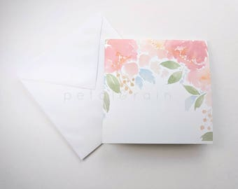 Florals on Parade (Blank Watercolor Cards)