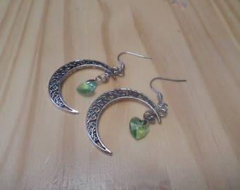 Halfmoon earrings