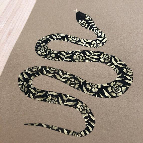 Floral Snake