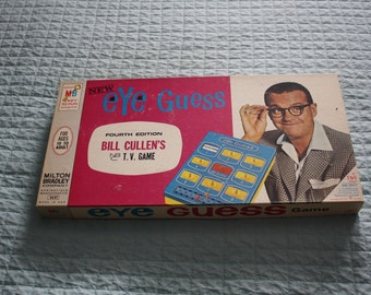 Eye Guess Game -- Fourth Edition Bill Cullen's TV Game -- Milton Bradley