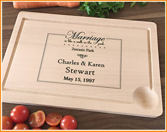 Personalized Cutting Board, Funny Wedding Gift, Engraved Cutting Board, Anniversary, Engagement, For Couple, Newlyweds, Romantic Gift